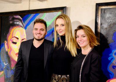 EMA & l'artiste Ina Dederer