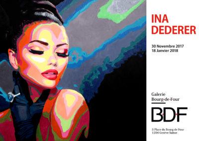 Exposition de l'artiste Ina Dederer
