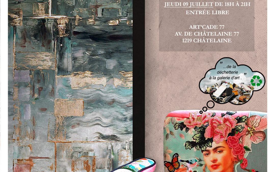 Vernissage Clémentine & Véroska