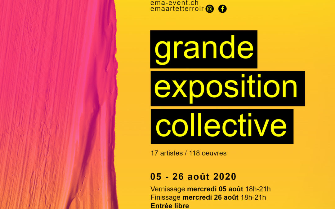 Vernissage exposition collective 17 artistes
